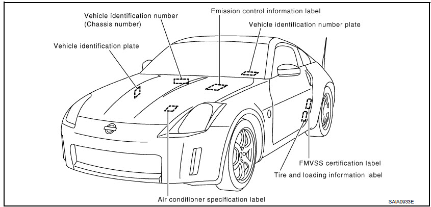 Nissan 350Z Roadster 2008 - Factory Service Manual - Car ...