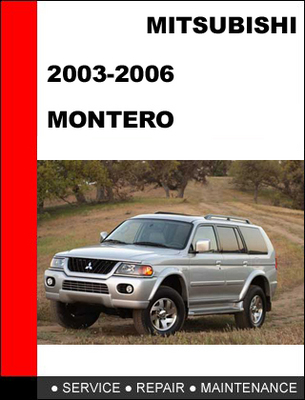 All You Need to Know about Owners Manual For 2003 Mitsubishi Montero Sport