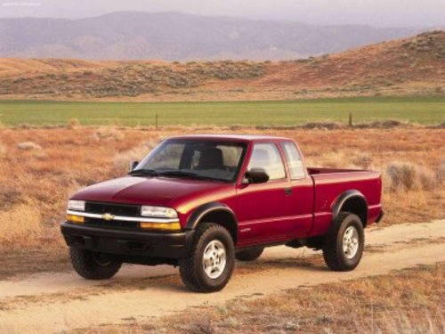 96 Chevy S10 manual